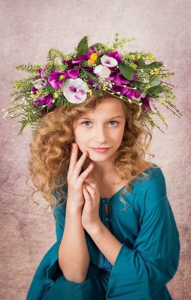 Катя Тихонова, 9 лет