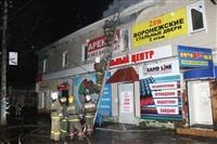 На ул. Оборонной в Туле сгорел магазин., Фото: 23