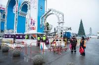 Установка новогодней арки, Фото: 4
