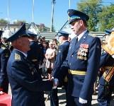 Командиру 106-й гвардейской воздушно-десантной дивизии вручено Георгиевское знамя, Фото: 17