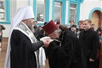 Освящение креста купола Свято-Казанского храма, Фото: 15