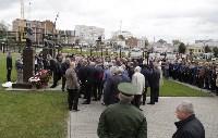 На Аллее Славы поставили бюст основателя Тульского патронного завода, Фото: 2