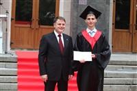 Владимир Груздев поздравил выпускников магистратуры ТулГУ, Фото: 45