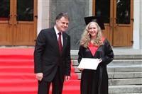 Владимир Груздев поздравил выпускников магистратуры ТулГУ, Фото: 26