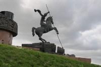 Статуя Георгия Победоносца на Поклонной горе. У подножия Монумента Победы установлена ещё одна работа Зураба Церетели – статуя Георгия Победоносца, одного из важных символов в творчестве скульптора., Фото: 10