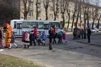 Новомосковские школьники научили взрослых переходить дорогу по «зебре», Фото: 5