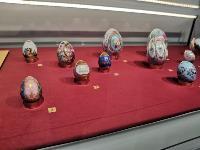 В Туле открылась выставка старинных фарфоровых пасхальных яиц, Фото: 9