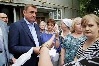 В Щёкино Алексей Дюмин поручил отремонтировать  подъезд дома на Ясенковском проезде, Фото: 18