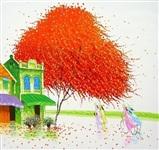Картины японского художника Phan Thu Trang, Фото: 2