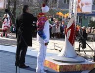 Эстафета Олимпийского огня. Новомосковск, Фото: 17