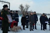 В пос. Товарковский простились с солистом ансамбля Александрова Виктором Саниным, Фото: 8