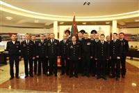 В Туле прошла церемония крепления к древку полотнища знамени регионального УМВД, Фото: 11
