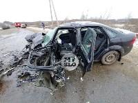 В страшном ДТП под Тулой погибли два человека, Фото: 14
