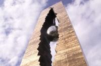 «Слеза скорби». 11 сентября 2006 года в США был открыт памятник «Слеза скорби» - подарок американскому народу в знак памяти жертв 11 сентября. На церемонии открытия присутствовали президент США Билл Клинтон и президент России Владимир Путин., Фото: 8