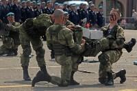 День Тульской дивизии ВДВ: на площади Ленина приземлились парашютисты, Фото: 77