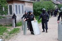 В Плеханово начали сносить дома в цыганском таборе, Фото: 28