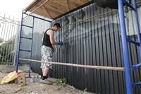 Граффити на набережной Упы, Фото: 6