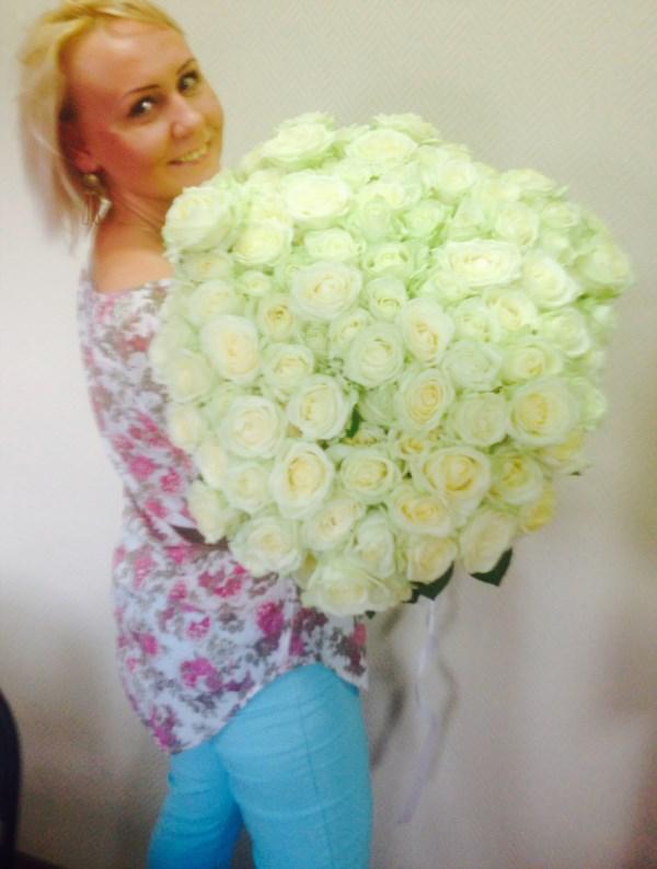 Обожаю белые цветочки