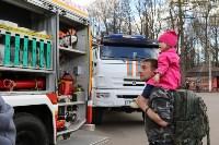 Спасатели продемонстрировали тулякам пожарную технику, Фото: 6