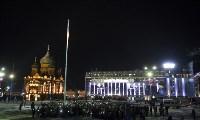 Фейерверк в честь 75-летия обороны Тулы, Фото: 3