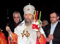 Пасхальная служба в Успенском соборе. 20.04.2014, Фото: 24