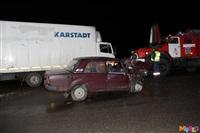 Под Тулой столкнулись грузовой Mercedes и «семерка», Фото: 7