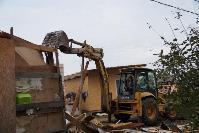 В тульском селе сносят незаконные цыганские постройки, Фото: 31