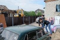 В Плеханово начали сносить дома в цыганском таборе, Фото: 84