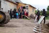 В Плеханово продолжается снос незаконных цыганских построек, Фото: 38
