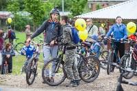 В Туле прошел большой велопарад, Фото: 133