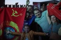 Матч Россия – Хорватия на большом экране в кремле, Фото: 41