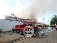 Пожар в Щекино, Фото: 4