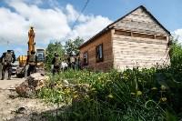 Плеханово, итоги дня: В таборе принудительно снесли первые 10 домов, Фото: 21