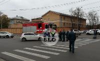В Туле пожарная машина столкнулась с BMW, Фото: 5
