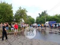 Пожар в Щекино, Фото: 2