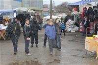В ходе зачистки на Центральном рынке Тулы задержаны 350 человек, Фото: 10