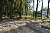 В Щёкино благоустраивают парк «Лесная поляна», Фото: 10