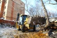 Снос дома на пересечении ул. Гоголевской и Свободы. 5.02.2015, Фото: 10