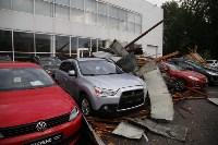 В Туле сорвало крышу делового центра, Фото: 6