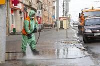 В Туле продолжается масштабная дезинфекция улиц, Фото: 2