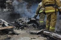 Пожар на ул. Победы в поселке Косая Гора. 3 апреля 2014, Фото: 3
