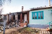 Сгоревший дом на ул. Локомотивной (Щекино), Фото: 3