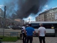 Загорелся недостроенный ТЦ на Красноармейском проспекте, Фото: 17