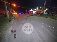 Крупное ДТП на ул. Металлургов в Туле: Nissan снес столб, пассажирку вышвырнуло из машины, Фото: 11