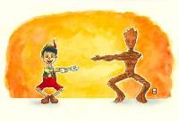 Пиноккио и Грут, Фото: 11