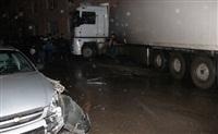В Криволучье фура сбила пешехода, врезалась в легковушку и протаранила дом, Фото: 3