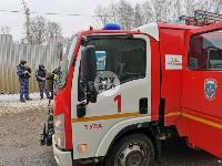 В Туле в переулке Тимирязева загорелся тир «Динамо», Фото: 2