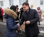 Владимир Груздев вручил ключи от квартир новоселам из Донского , Фото: 7