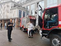 Пожар в «Гостинке»: что происходит на месте ЧП, Фото: 10
