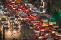 Транспортный коллапс в центре Тулы, Фото: 20